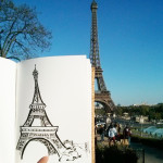 Eiffel Tower Sketch